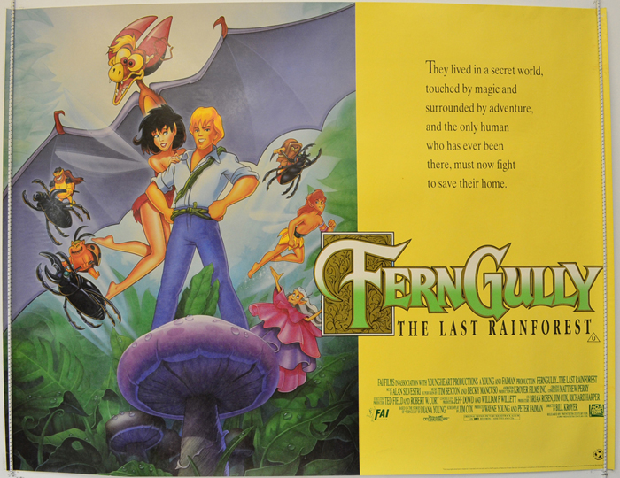 Ferngully : The Last Rainforest <p><i> (Yellow Version) </i></p ...
