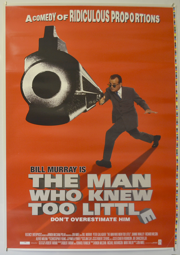 Man Who Knew Too Little (The) <p><i> (Printers Proof) </i></p>