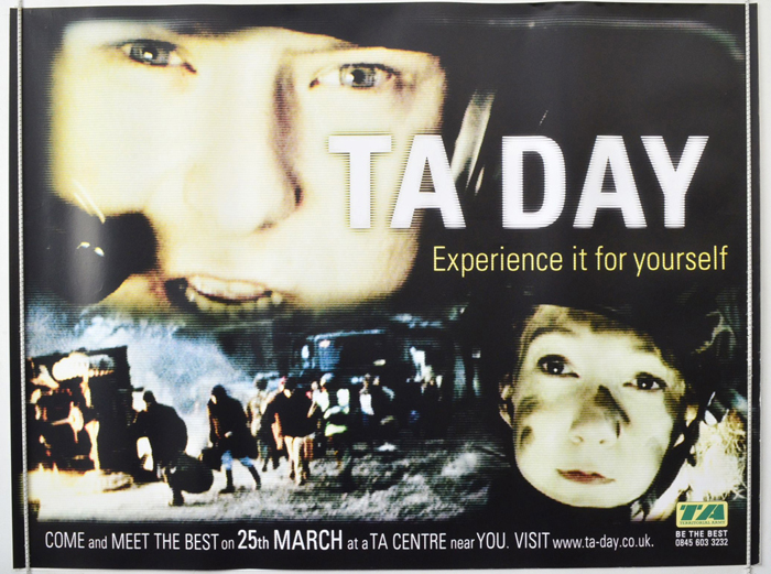 T.A. Day <p><i> (Territorial Army Cinema Advertising Poster) </i></p>