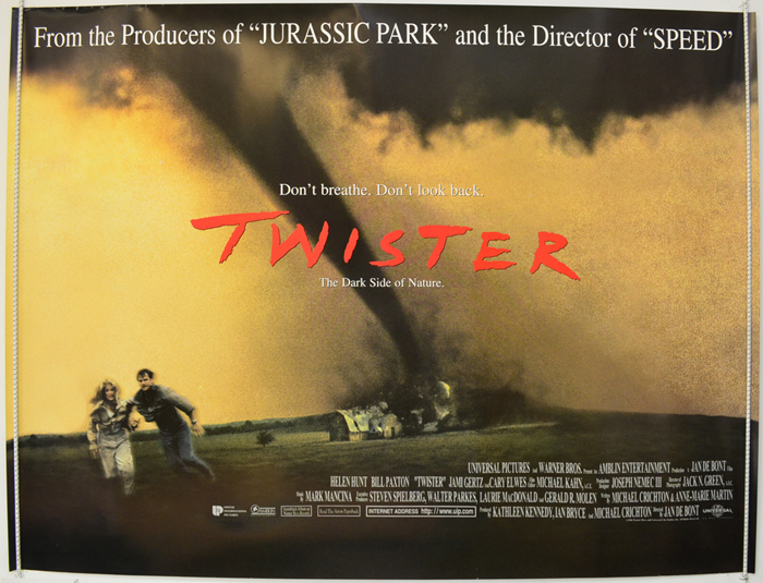 Twister - Original Cinema Movie Poster From pastposters.com ...