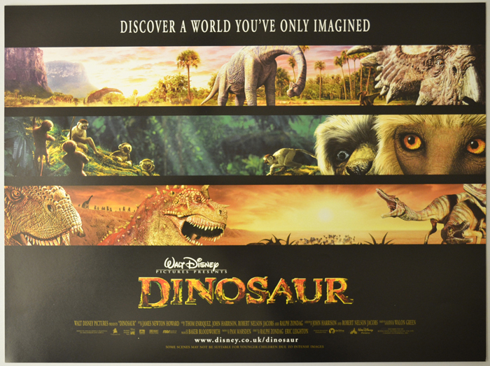Dinosaur - Original Cinema Movie Poster From pastposters.com ...