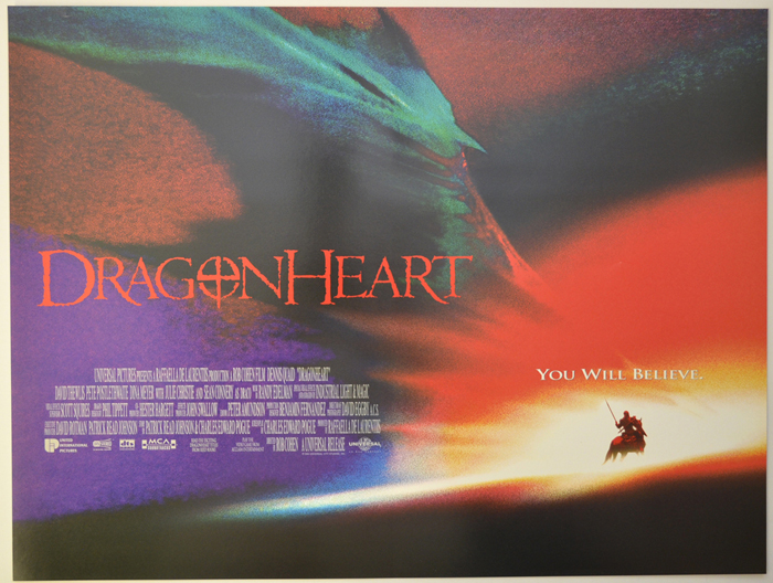 Dragonheart - Original Cinema Movie Poster From pastposters.com ...