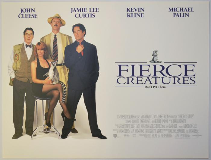 Fierce Creatures - Original Cinema Movie Poster From pastposters ...