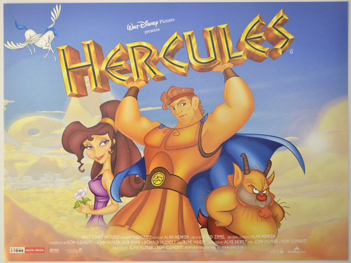 Hercules - Original Cinema Movie Poster From pastposters.com ...