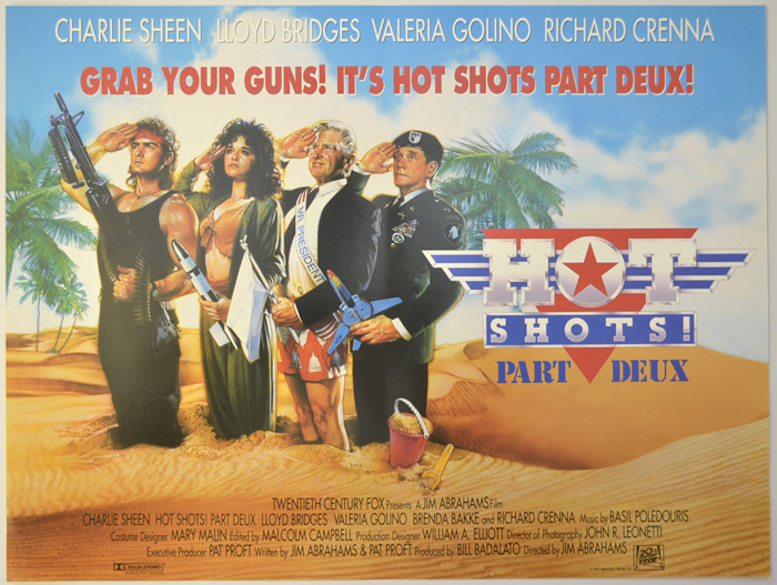 Hot Shots! Part Deux - Original Cinema Movie Poster From ...