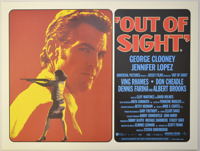 Out Of Sight - Original Cinema Movie Poster From pastposters.com ...