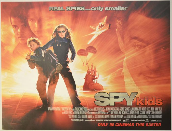 Spy Kids - Original Cinema Movie Poster From pastposters.com ...