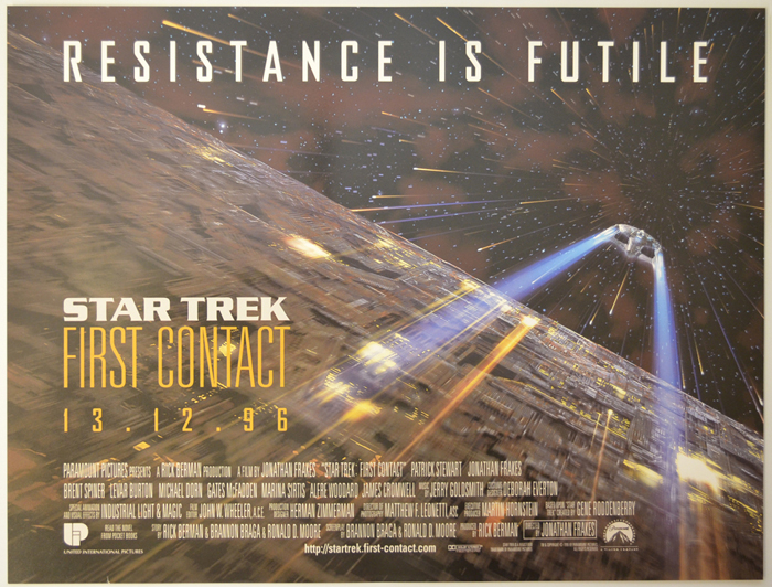 Star Trek : First Contact <p><i> (Teaser / Advance Version) </i></p>