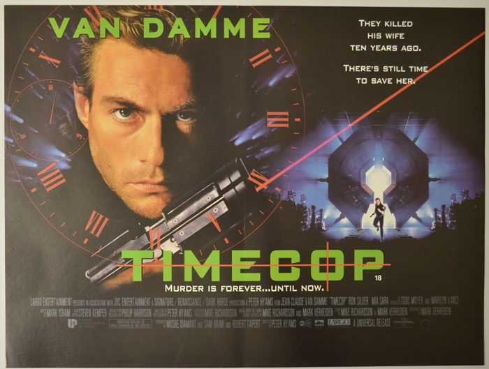 Timecop - Original Cinema Movie Poster From pastposters.com ...