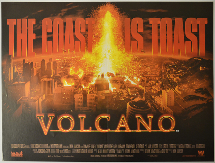 Volcano - Original Cinema Movie Poster From pastposters.com ...