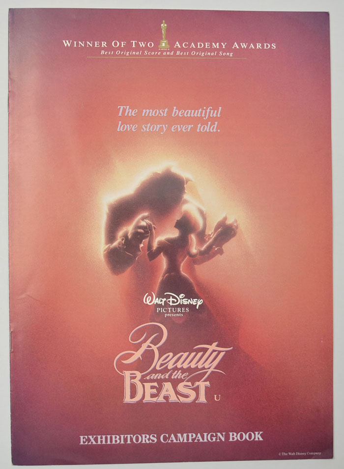 Beauty And The Beast <p><i> Original 10 Page Cinema Exhibitors Campaign Press Book </i></p>