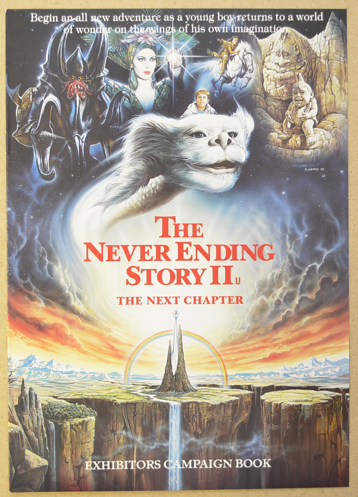 Never Ending Story II  : The Next Chapter <p><i> Original 8 Page Cinema Exhibitors Campaign Press Book </i></p>
