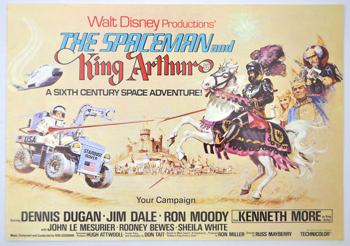 Spaceman And King Arthur (The) <p><i> Original 16 Page Cinema Exhibitors Campaign Press Book  </i></p>