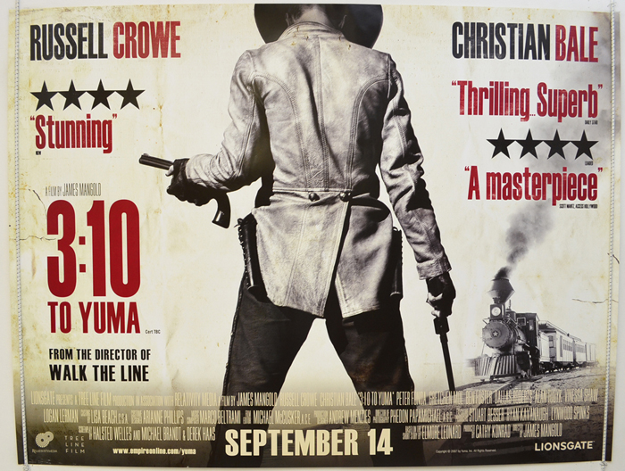 3:10 To Yuma - Original Cinema Movie Poster From pastposters.com ...
