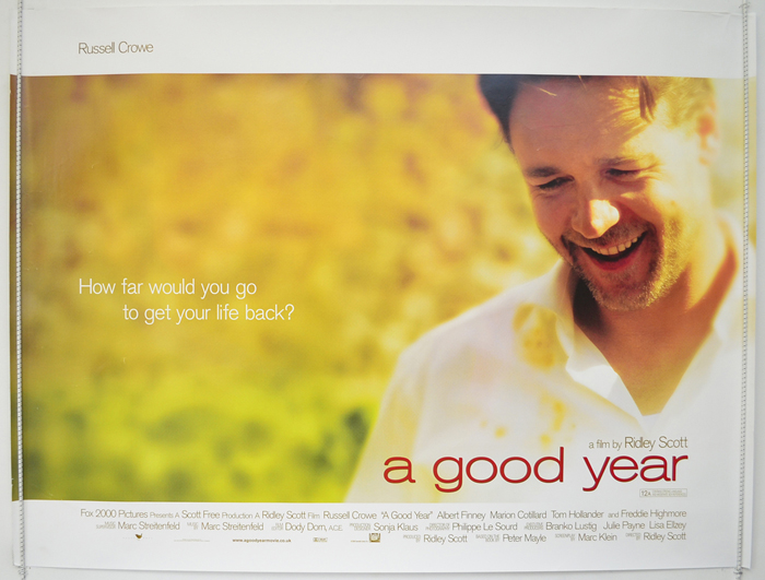 A Good Year - Original Cinema Movie Poster From pastposters.com ...