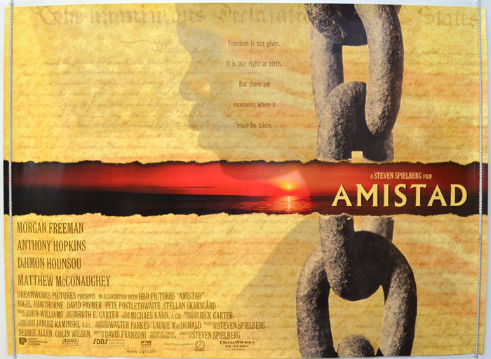 Amistad - Original Cinema Movie Poster From pastposters.com ...
