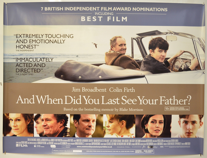 And When Did You Last See Your Father? <p><i> (Reviews Version) </i></p>