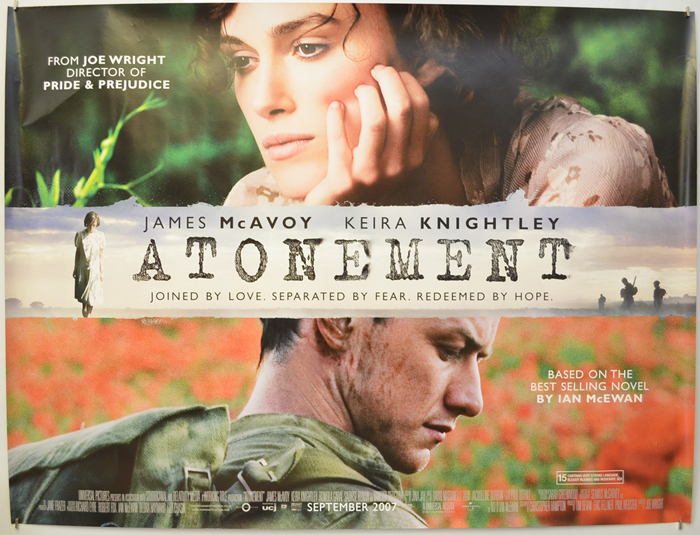 Atonement - Original Cinema Movie Poster From pastposters.com ...