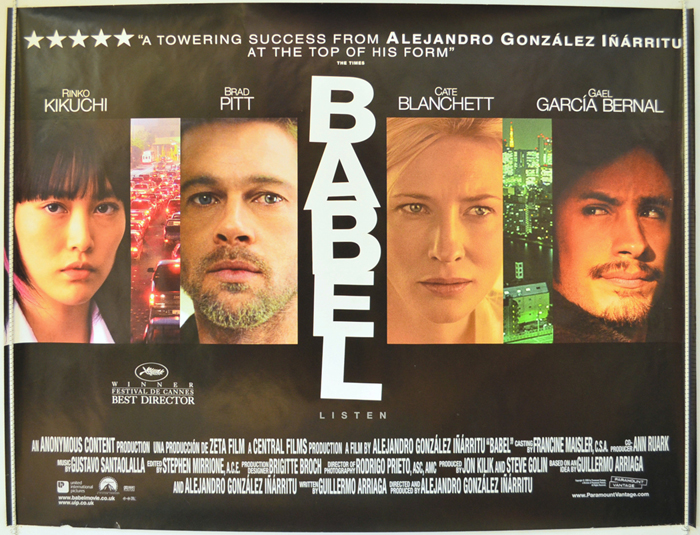 Babel - Original Cinema Movie Poster From pastposters.com British ...