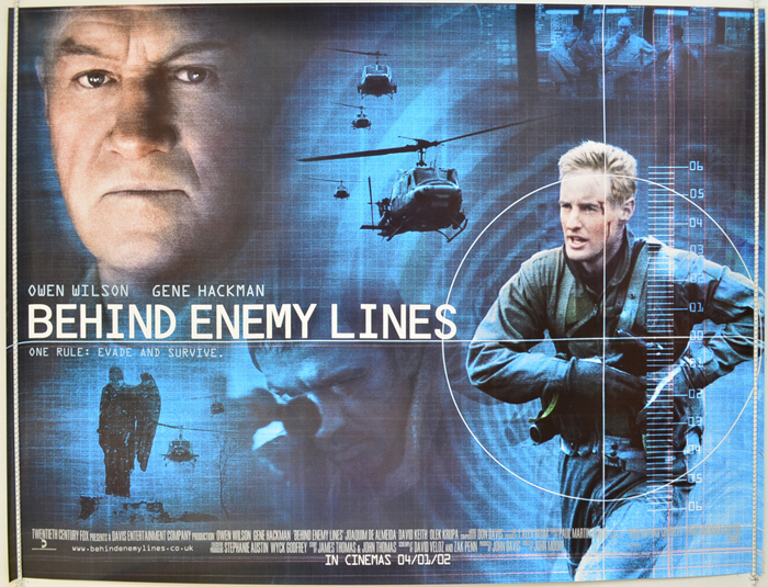 Behind Enemy Lines - Original Cinema Movie Poster From pastposters