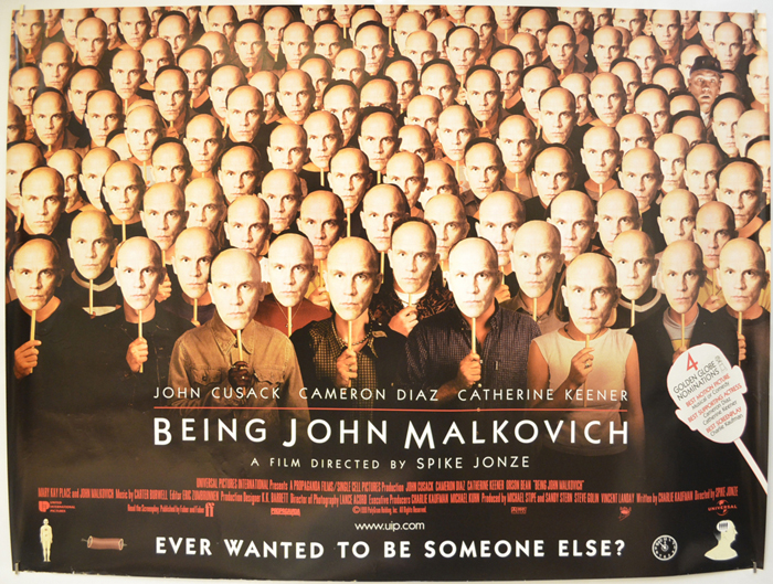 Being John Malkovich - Original Cinema Movie Poster From ...