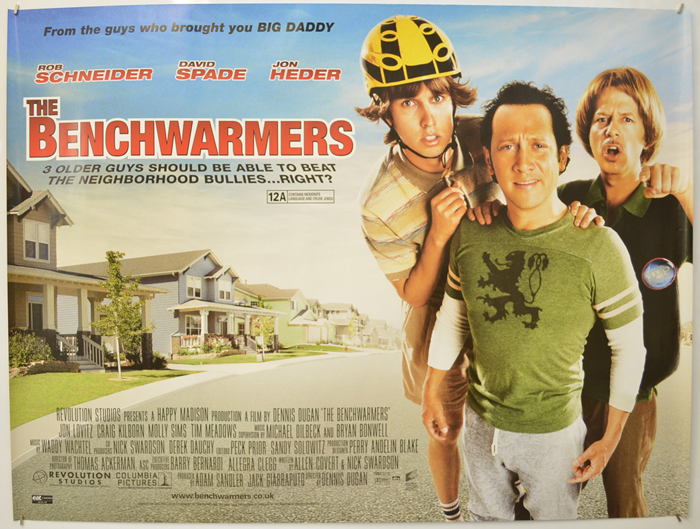 Benchwarmers (The) - Original Cinema Movie Poster From