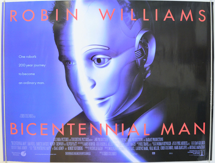 Bicentennial Man - Original Cinema Movie Poster From pastposters ...