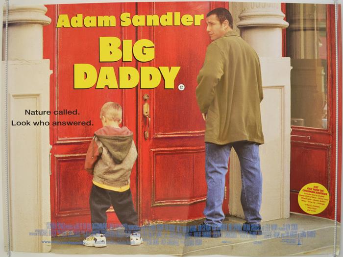 Big Daddy Original Cinema Movie Poster From Pastposters