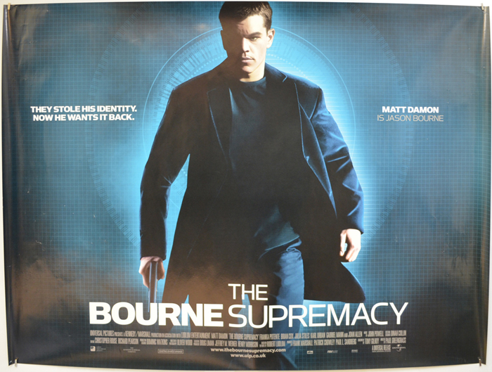 Bourne Supremacy (The) - Original Cinema Movie Poster From ...