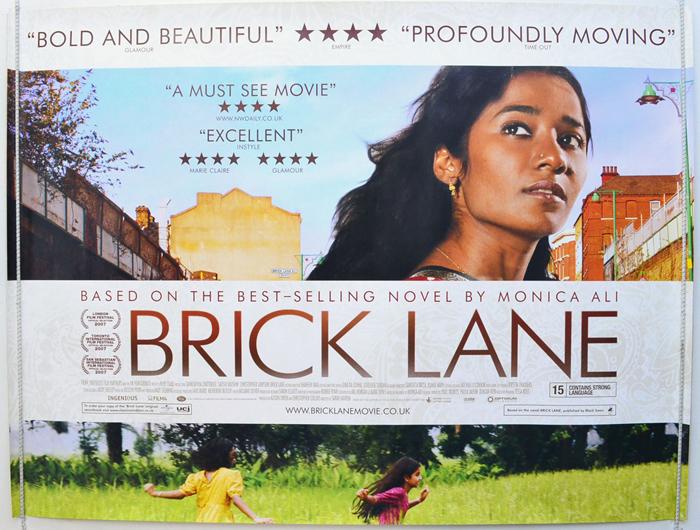 Brick Lane - Original Cinema Movie Poster From pastposters.com ...