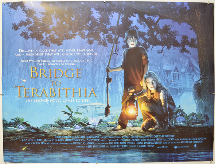Bridge To Terabithia (The) - Original Cinema Movie Poster From ...
