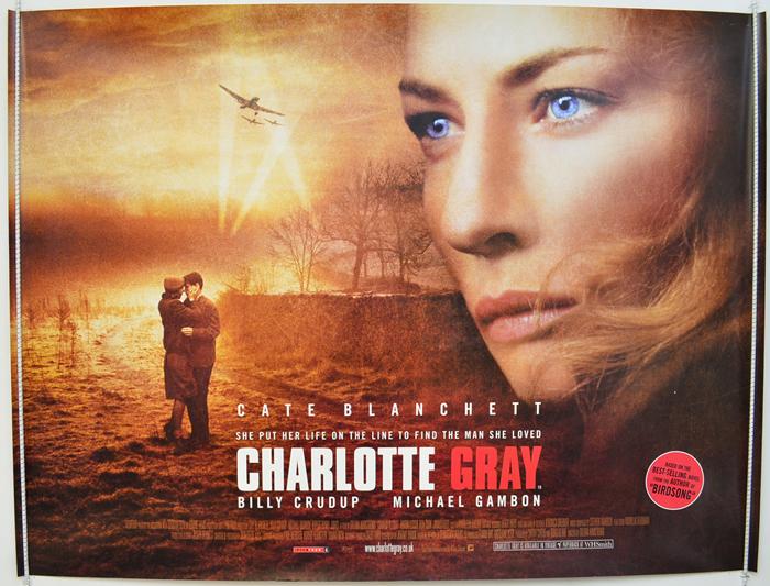 Charlotte Gray - Original Cinema Movie Poster From pastposters.com ...