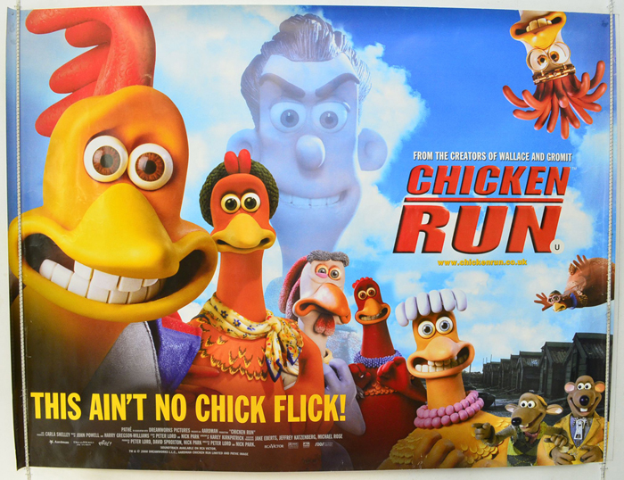 Chicken Run - Original Cinema Movie Poster From pastposters.com ...