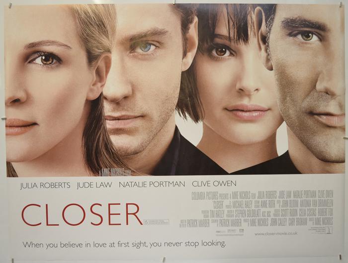 Closer - Original Cinema Movie Poster From pastposters.com British ...
