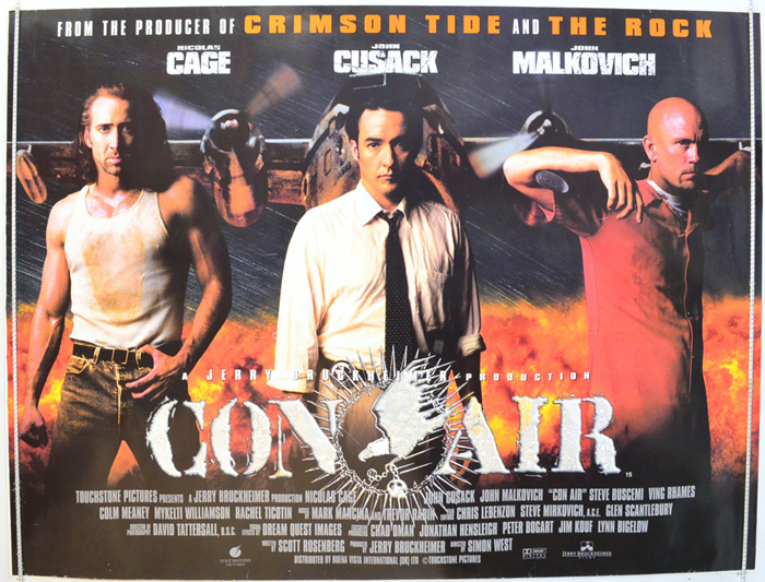 Con Air - Original Cinema Movie Poster From pastposters.com ...