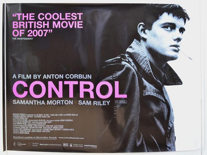 Control - Original Cinema Movie Poster From pastposters.com ...