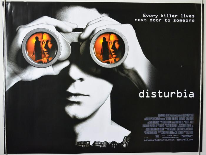 Disturbia - Original Cinema Movie Poster From pastposters.com ...