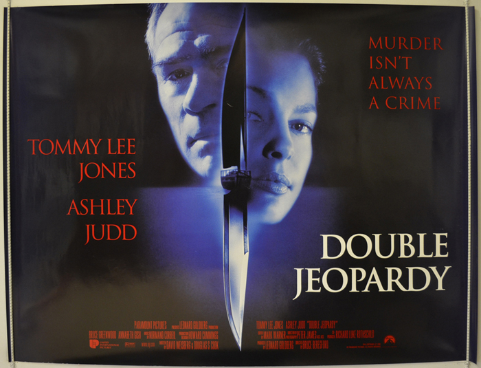 Double Jeopardy - Original Cinema Movie Poster From pastposters ...