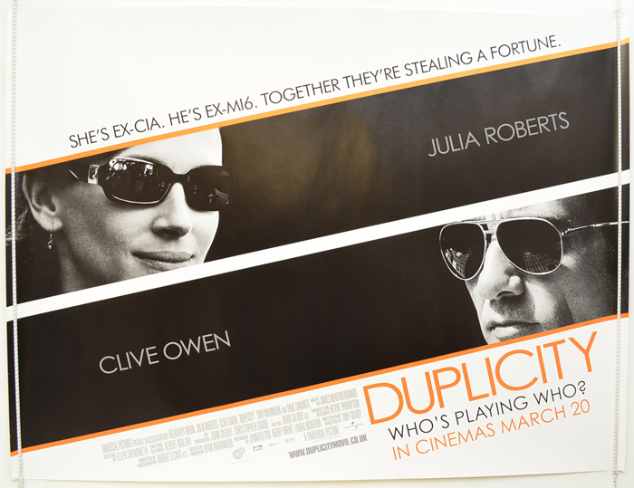 Duplicity - Original Cinema Movie Poster From pastposters.com ...