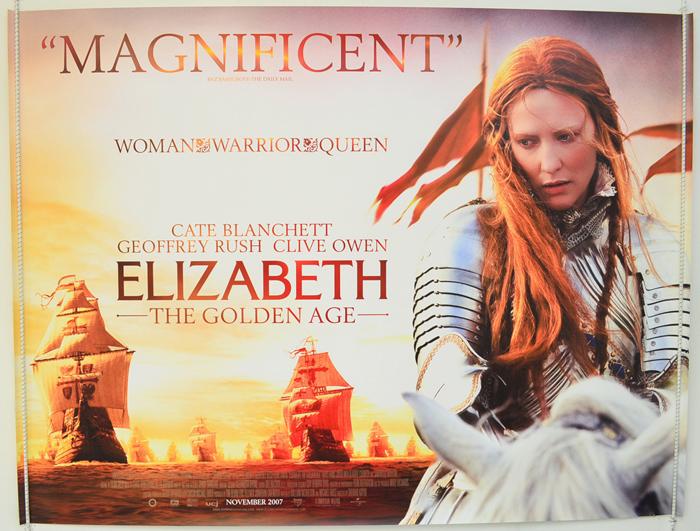 Elizabeth - The Golden Age - Original Cinema Movie Poster From ...