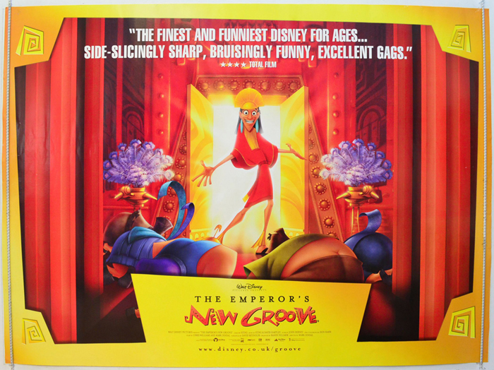 Emperor's New Groove (The) - Original Cinema Movie Poster From ...