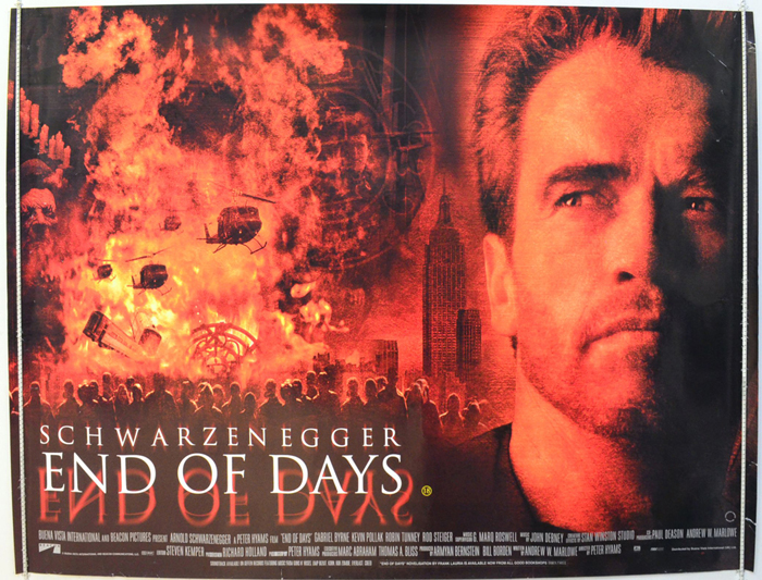 End Of Days - Original Cinema Movie Poster From pastposters.com ...