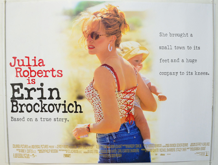 Erin Brockovich - Original Cinema Movie Poster From pastposters ...