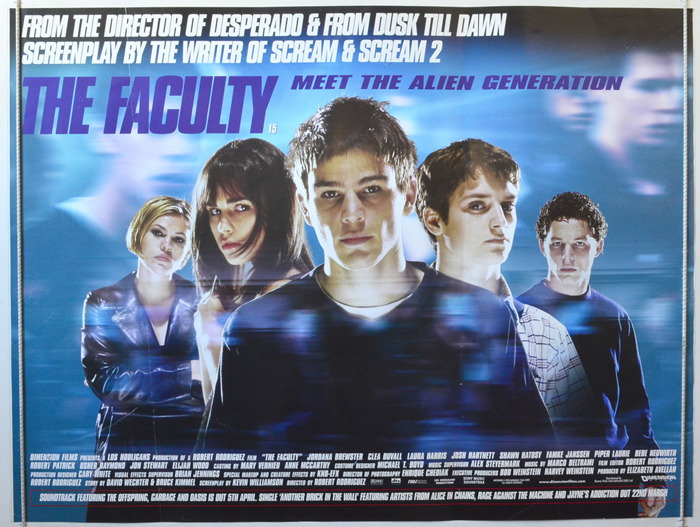 Faculty (The) - Original Cinema Movie Poster From pastposters.com ...