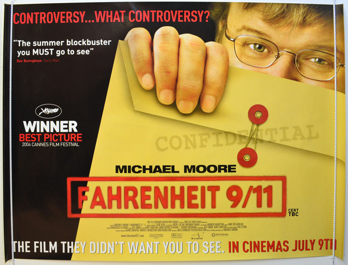 Fahrenheit 9/11 <p><i> (Teaser / Advance Version) </i></p>