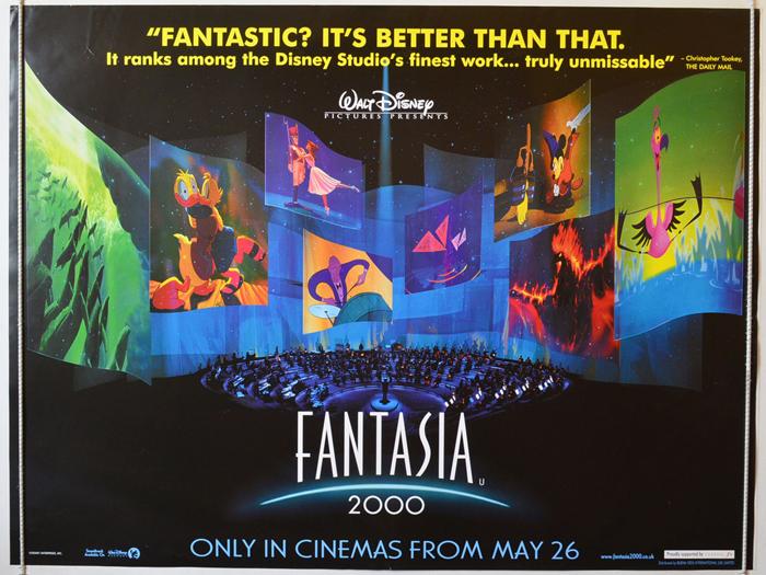 Fantasia 2000 - Original Cinema Movie Poster From