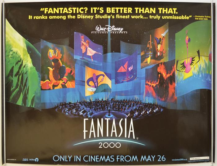 Fantasia 2000 - Original Cinema Movie Poster From pastposters.com ...