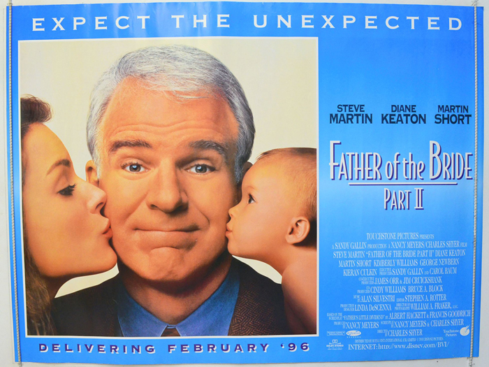 Father Of The Bride Part II - Original Cinema Movie Poster From ...
