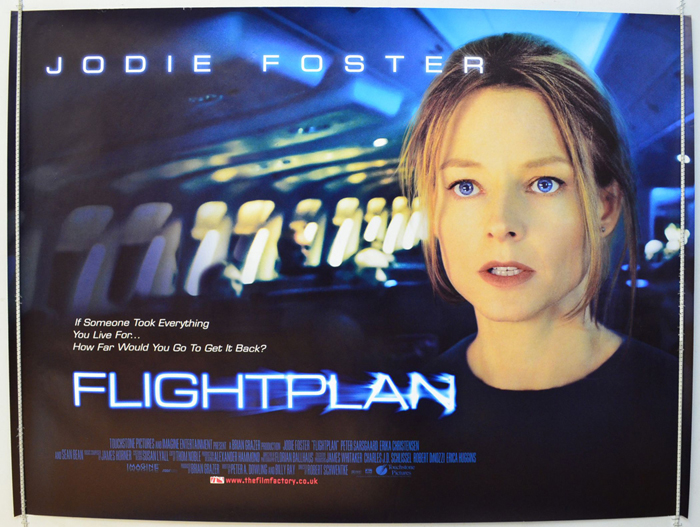 Flightplan - Original Cinema Movie Poster From pastposters.com ...