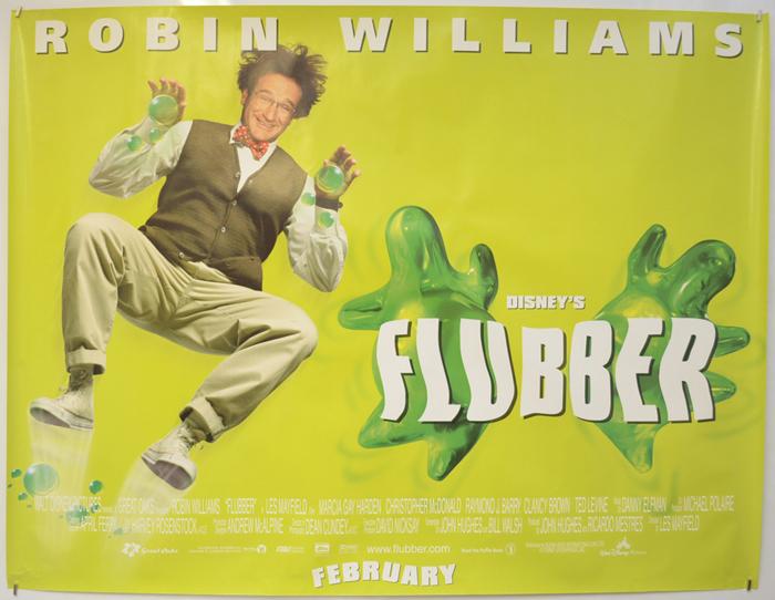 Flubber - Original Cinema Movie Poster From pastposters.com ...